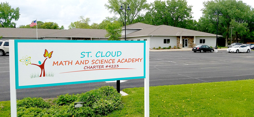 Solar Savings + STEM Curriculum for St. Cloud Math & Science Academy